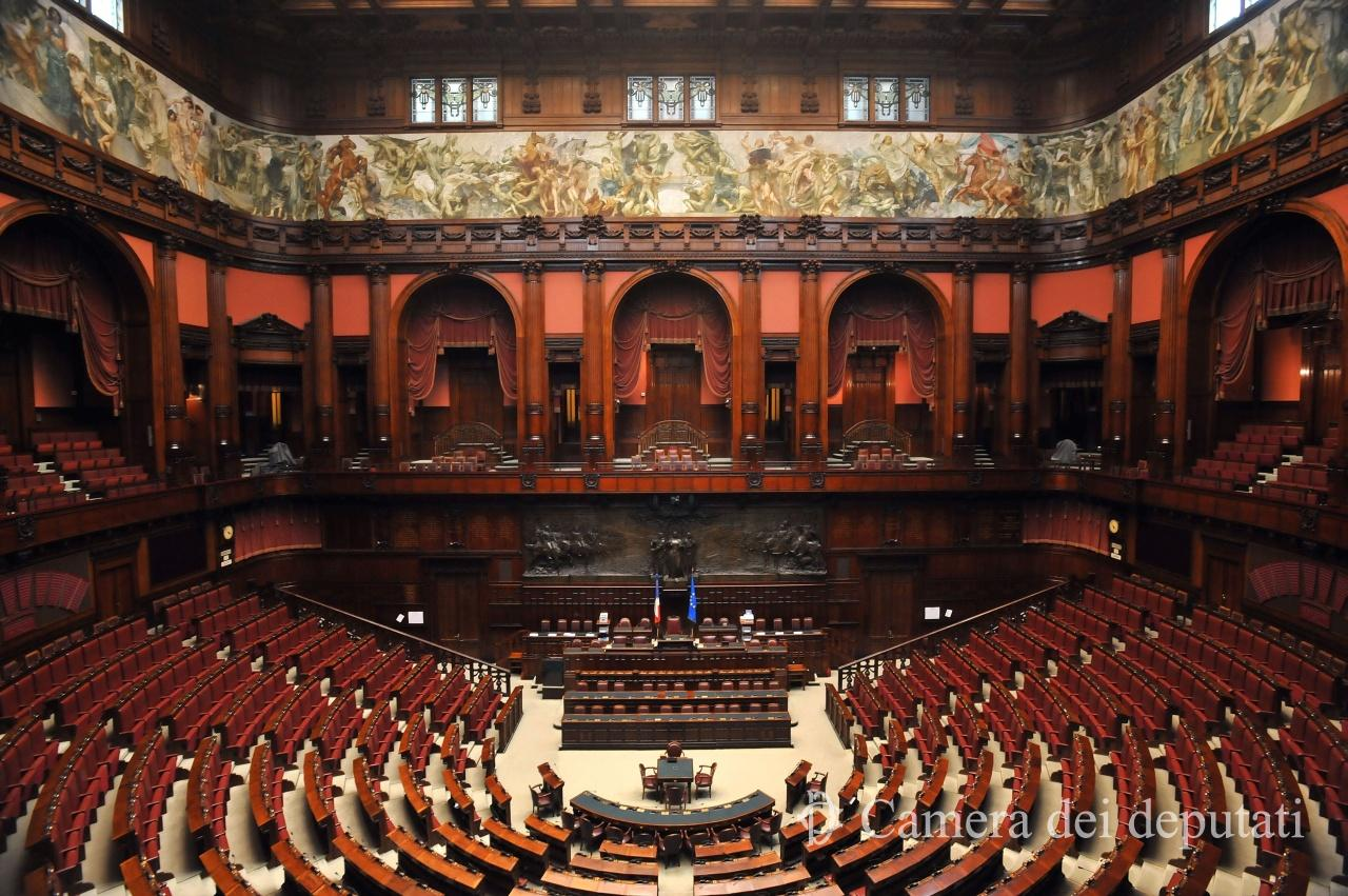 Xvi legislatura comunicazione la camera for Oggi in parlamento italiano