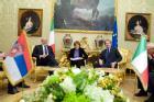 FINI INCONTRA IL PRESIDENTE DELLA REPUBBLICA DI SERBIA
