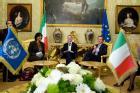 FINI INCONTRA L'ALTO COMMISSARIO PER I DIRITTI UMANI DELLE NAZIONI UNITE