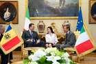 FINI INCONTRA IL PRESIDENTE DEL PARLAMENTO DELLA REPUBBLICA DI MOLDOVA