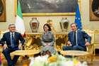 FINI INCONTRA IL PRESIDENTE DELLA REPUBBLICA DI ARMENIA