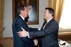 FINI INCONTRA IL PRESIDENTE DELL'ASSEMBLEA PARLAMENTARE DELL'OSCE