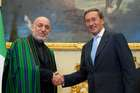 FINI INCONTRA IL PRESIDENTE DELLA REPUBBLICA DELL'AFGHANISTAN