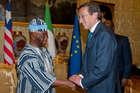 FINI INCONTRA IL VICE PRESIDENTE DELLA LIBERIA