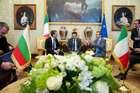 FINI INCONTRA IL PRESIDENTE DELLA REPUBBLICA DI BULGARIA