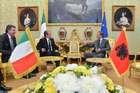 FINI INCONTRA IL PRIMO MINISTRO ALBANESE