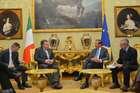 FINI RICEVE UNA DELEGAZIONE DELLA COMMISSIONE AFFARI EUROPEI DEL BUNDESTAG