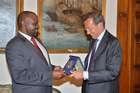 FINI INCONTRA IL PRESIDENTE DELLA CAMERA DELLO ZIMBABWE